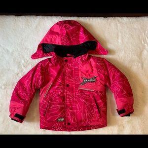 Ski Doo toddler jacket 2T